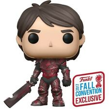 Jim Red Armor Pop! Vinyl Figure Television #466 Trollhunters NYCC 2017 Exclusive