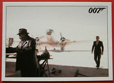JAMES BOND - Quantum of Solace - Card #056 - Bond & Camille Take Off