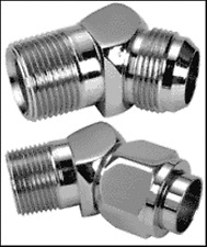 P/N: 3355-5-2 Lenz Male 45° Elbow WeatherHead P/N: C5355X5 Lot Of 5 Pcs.