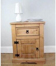 Corona Pine Bedside Tables & Cabinets