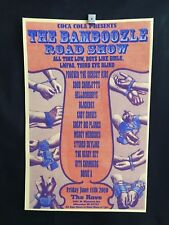 Bamboozle Milwaukee Concert Poster 2010 Good Charlotte Third Eye Blind LMFAO