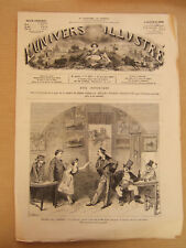 L'UNIVERS ILLUSTRE 27 OCTOBRE 1877 N° 1179 PARIS THEATRE DES VARIETES LA CIGALE