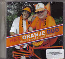 Marianne Weber&Emile Hartkamp-Heel t Land kleurt Oranje Promo cd single