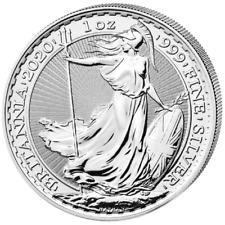 Britannia 2020 Silber 1 OZ Unze Silver Argent Großbritannien United Kingdom UK