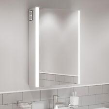 Armário Espelho Banheiro Porta Simples Canto Aço inoxidável montado pré-montado