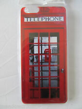 "Red Telephone Box Style iPhone Case for iPhone 6 4.7""  NEW British UK BT London"