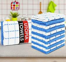 """Kitchen Towel Dobby Weave Dish Cloth Absorbent 12 Pack Lot 15x25"""" Utopia Towels"""