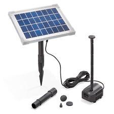 Solar Teichpumpe 5W 250l/h Solarpumpe Gartenteich Springbrunnen esotec 101909