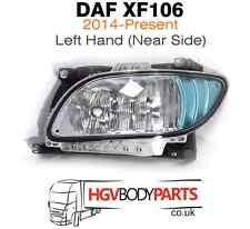 DAF XF 106 XF106 Euro6 Bumper Fog Spot Light Lamp with Frame LH