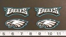 Philadelphia Eagles NFL Iron On Fabric Appliques Patch Logo DIY Craft NO SEW 4pc