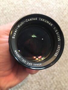 Asahi Pentax Super MC Takumar 1:3.5/135 Vintage Camera Lens 4572165