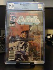 Marvel's Punisher #2 Limited Series (Feb. 1986, Marvel Comics) CGC 9.0 Mike Zeck