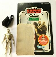 Star Wars Vintage COMPLETE C-3PO w/47 Cardback -UNCUT/UNPUNCHEDCOO: 1982 HK