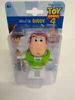 RARE Disney Pixar Toy Story 4 Wind Up Buddy - Buzz Lightyear Fast and Free