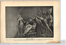 1899 Historical Portraits Death of Marat Last Victims Reign of Terror