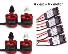4x Brushless Motor 2212 920KV CW/CCW + 4x Simonk ESC 30A for Qudcopter drone