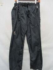 D7433 Outa Wear USA Made Black Polyester High Grade Sport Pants Men's S