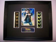 BACK TO THE FUTURE Framed Movie Film Cell X 10 - compliments dvd book poster