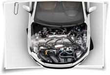 Motor-Sport KFZ Reparatur Motorhaube Auto-Aufkleber Schutz-Folie Tuning Airbrush