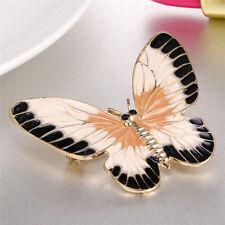 Enamel Butterfly Brooch Pin Shirt Collar Pin Women Fashion Wedding Party Jewe GT