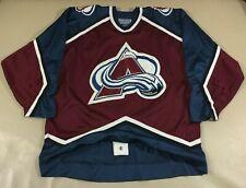 Vintage Colorado Avalanche Ice Hockey Starter Jersey Size52