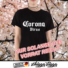 Corona Tshirt Trend Shirt Epidemie Corona Bier