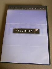 Insomnia (DVD, 1999, Criterion Collection) Rare! OOP!