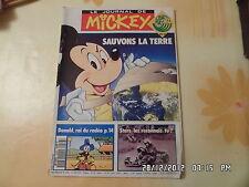 JOURNAL DE MICKEY N°2086 12 JUIN 1992 SAUVONS LA TERRE DONALD ROI DU RODEO   D40