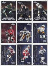 MARTIN BRODEUR DEVILS PATRICK ROY AVALANCHE 2000-01 UD HEROES PLAYER IDOLS #PI2