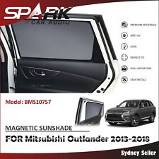 SP MAGNETIC CAR WINDOW SUN SHADE BLIND MESH FOR MITSUBISHI OUTLANDER 2013+
