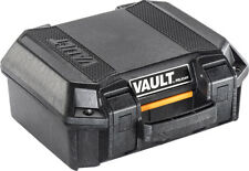 Vault by Pelican - V100 Small Case with Foam (Black)