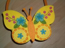 Wunderschöne Filztasche Tasche Schmetterling Ostern Geschenk Osterkörbchen schön