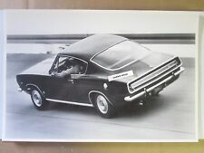 "1967 Plymouth Barracuda 12 X 18"" Black & White PICTURE"