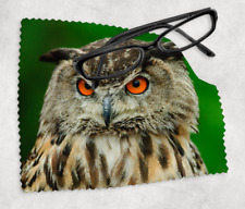 OWL Sunglasses Reading Lens Mobile Phone Microfiber Cleaning Cloth