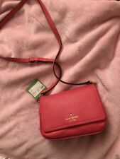 Kate Spade New York Cobble Hill Abela Small Crossbody Purse Bag warmguava NWT