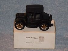 Vintage Cast Iron Sedan Car Reproduction Kept In A Box Nice Condition