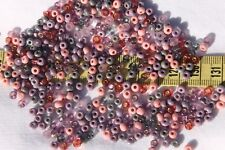 Mauve Whispers 6/0  Czech Glass Seed Beads Jewelry Making Crafts /28 grams