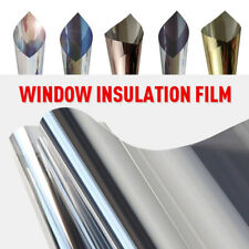 Glass Film Window Insulation Film Privacy Transparent High Heat Rejection UV Cut