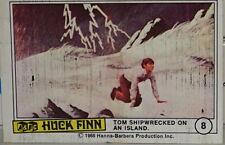 A&BC Huck Finn Card #8 Tom Shipwrecked on an Island 1968