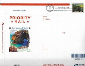 U693 La Cueva del Indio Priority Mail Envelope FDC
