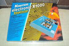 Kosmos electronic  Französiche Ausgabe X1000 Baukasten