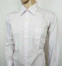 Roberta Di Camerino Men's Dress Shirt Pale Pink Wedding Size 43 - 17 New RRP£295