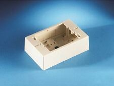 """Ortronics OR-40300061 Low Profile Surface Mount Wall Box 3"""" x 4.5"""" x 1.5"""" Deep"""