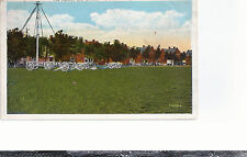The Cannon & Officers' Row  Plattsburgh Barracks  NY   Mailed   Postcard 684