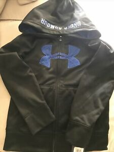 NWT BOYS YOUTH UNDER ARMOUR All Season Gear  HOODIE JACKET SWEATSHIRT Youth Sz 7