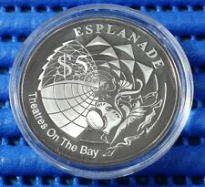 2002 Singapore Esplanade Theatres on the Bay Commemorative $5 Silver Proof Coin
