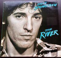 Bruce Springsteen THE RIVER LP CBS 84622 1980 A1/B1/C1/D1 First Press Excellent