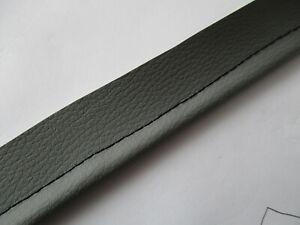 (EUR 11,29 / m) 7 mtr  Keder/Kederschnur- DICK- grau Kunstleder z. einnähen
