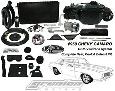 Vintage Air Chevy Camaro 1969 w/AC Heat Air Conditioning Defrost Kit 964169