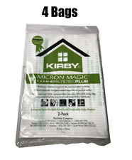 4 Genuine Kirby Avalir Micro Magic Allergen Bags HEPA 205814A